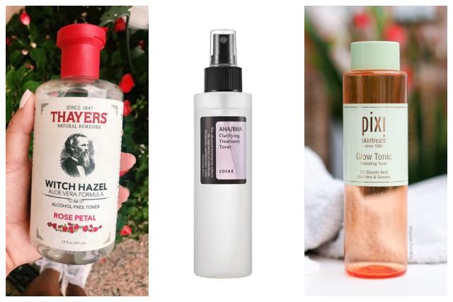 best toner skin care thayers cosrx pixi