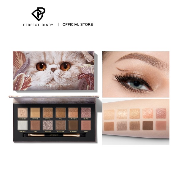 gifts for cat lovers cat-themed perfect diary cat explorer eyeshadow palette
