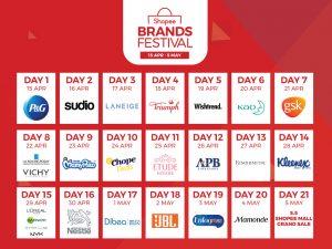 Brands Calendar