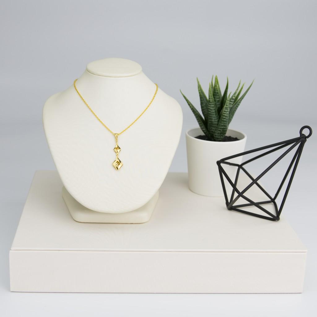 Citigems Diamond-Shaped Pendant