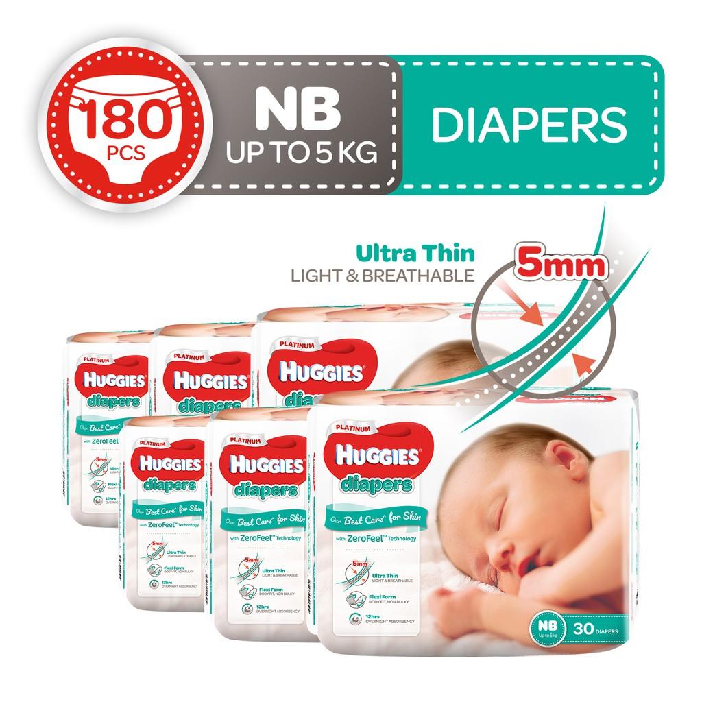 Huggies Platinum Diapers