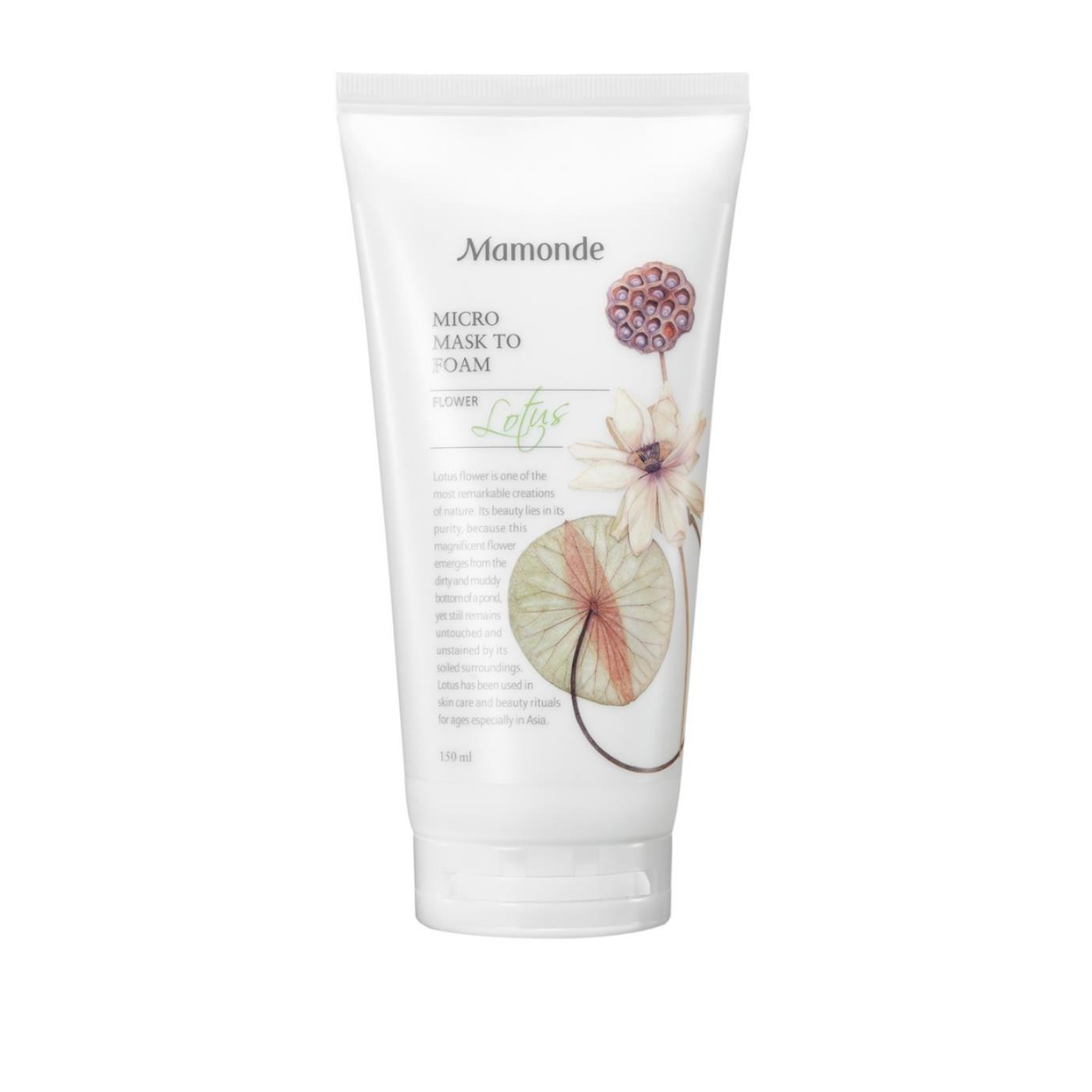 Lotus Micro Cleansing Foam