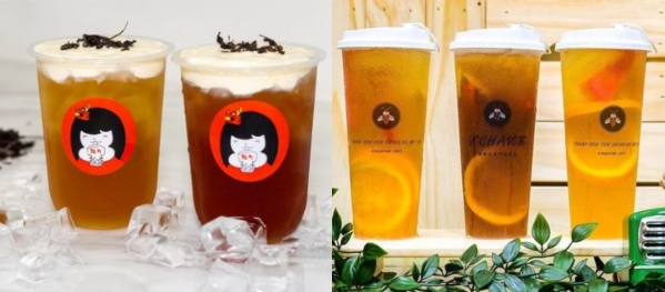 bubble tea to complement food vouchers in singapore