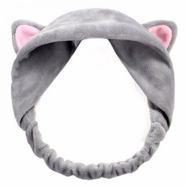 gift ideas singapore snuggly cat ears headband fashion grey pink