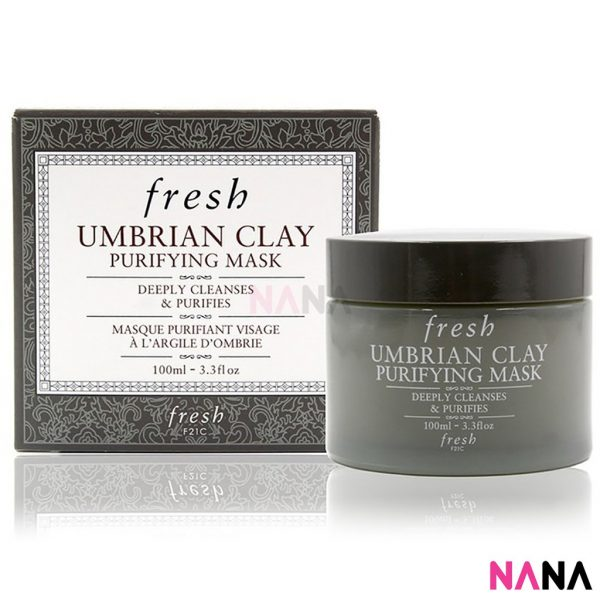 fresh clay mask skincare routine for oily skin