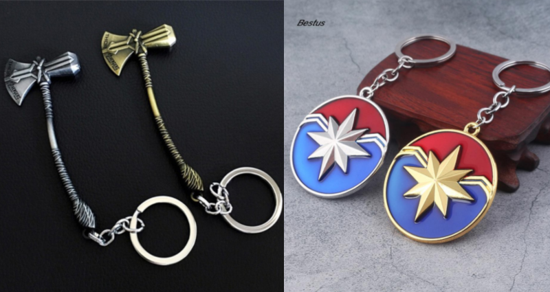 keychain marvel merchandise in singapore