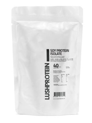 lushprotein soy protein isolate best protein powders vegetarian
