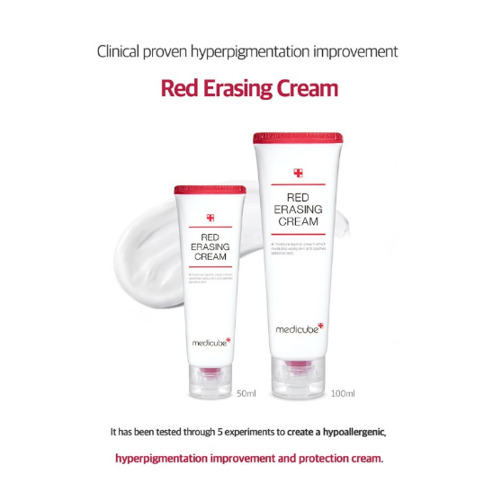 Acne Scar Removal Medicube Red Erasing Cream