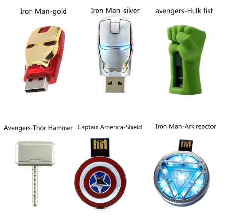 usb flash drives marvel merchandise in singapore