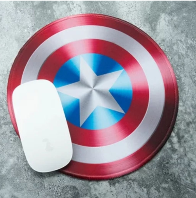 captain america shield mousepad marvel merchandise in singapore
