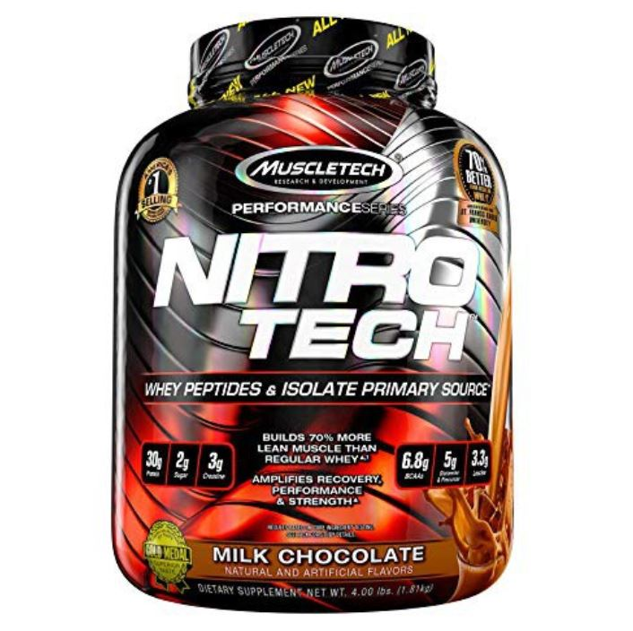 muscletech nitrotech best protein powders protein content