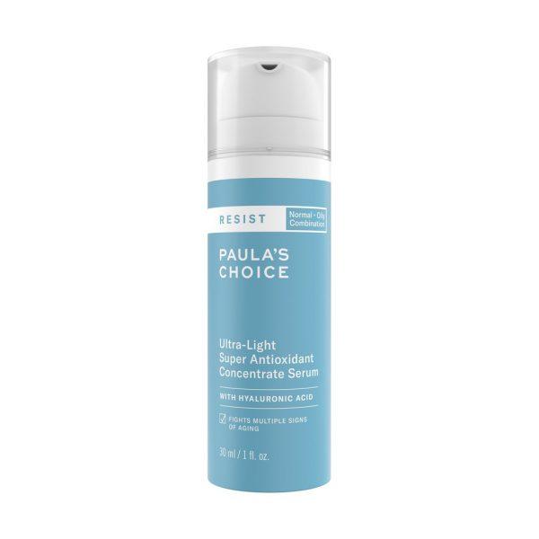 paulas choice serum skincare routine for oily skin