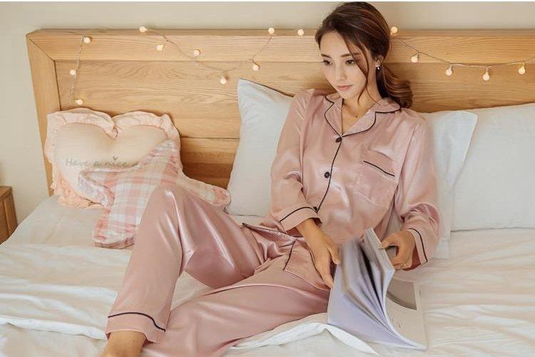 silk pyjamas mother's day gift idea