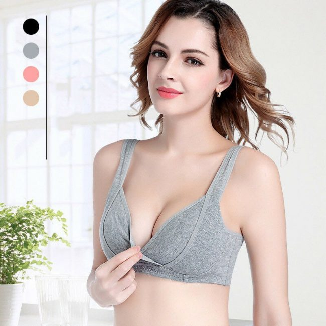 nursing bra singapore front wrap cotton overnight lingerie breastfeed