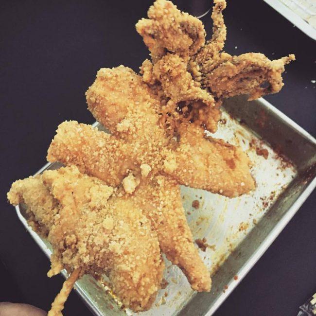 geylang serai bazaar krumbz n kraves argentina squid deep fried