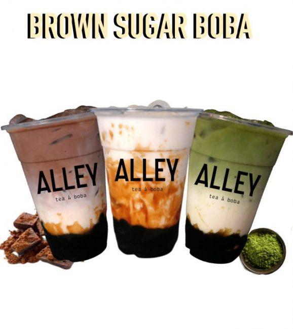 geylang serai bazaar alley bubble tea brown sugar