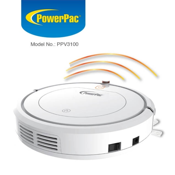 best robot vacuum cleaner singapore powerpac white sensor
