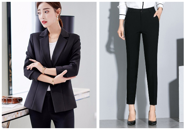 what to wear to an interview outfit women business formal blazer pants heels
