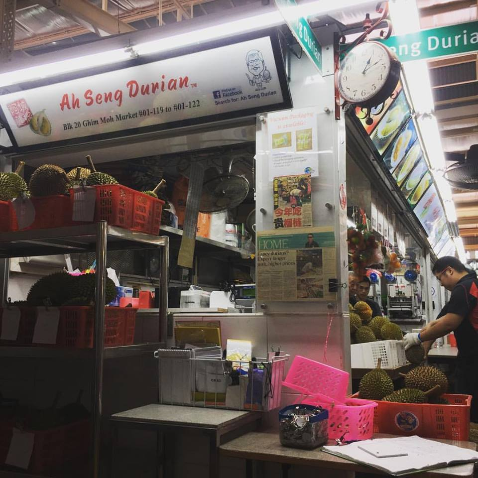ah seng durian best durians in singapore