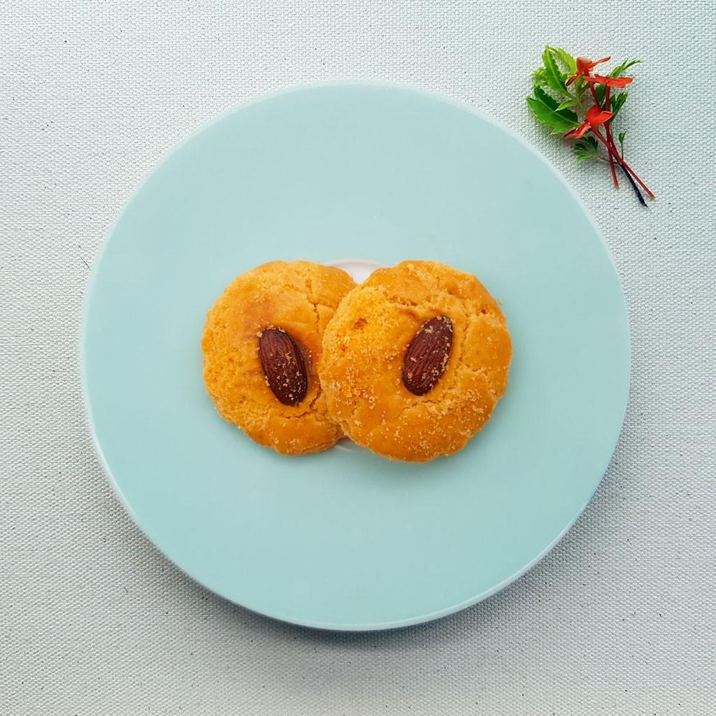 almond cookies hari raya cookies
