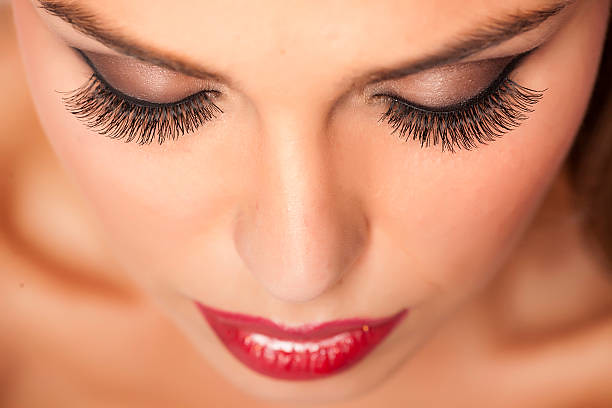 makeup and best fake eyelashes