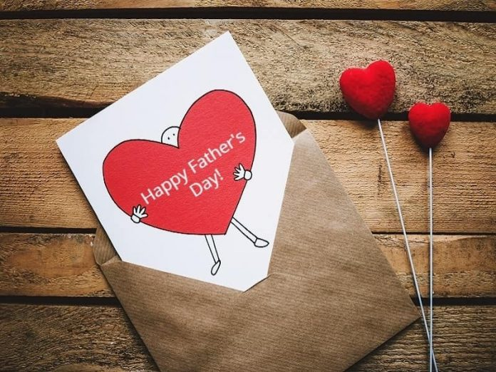 happy fathers day card ideas with hearts