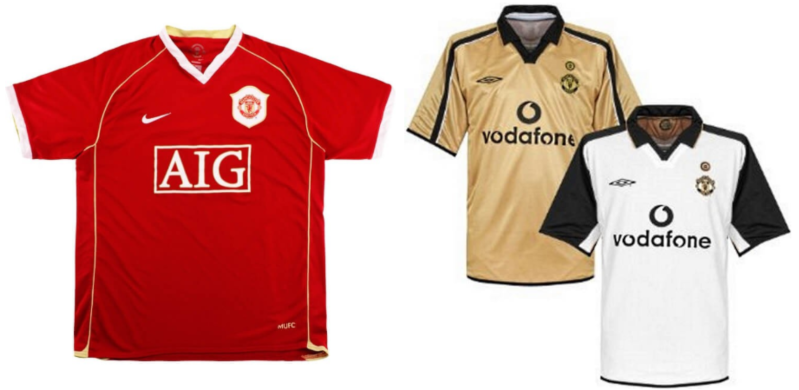 retro manchester united football jerseys in singapore for icc 2019 singapore match