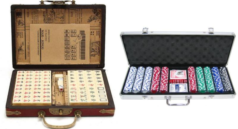 poker chips mahjong tiles housewarming gifts