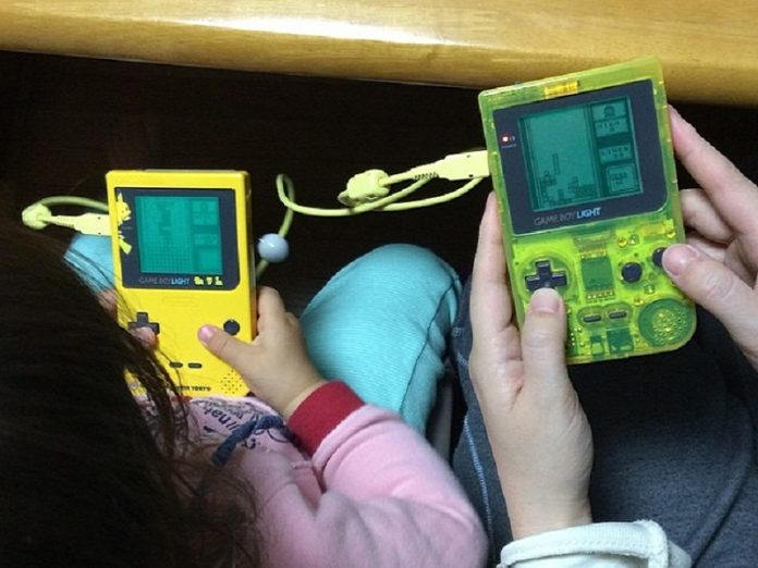 8-bit games retro game console boy arcade