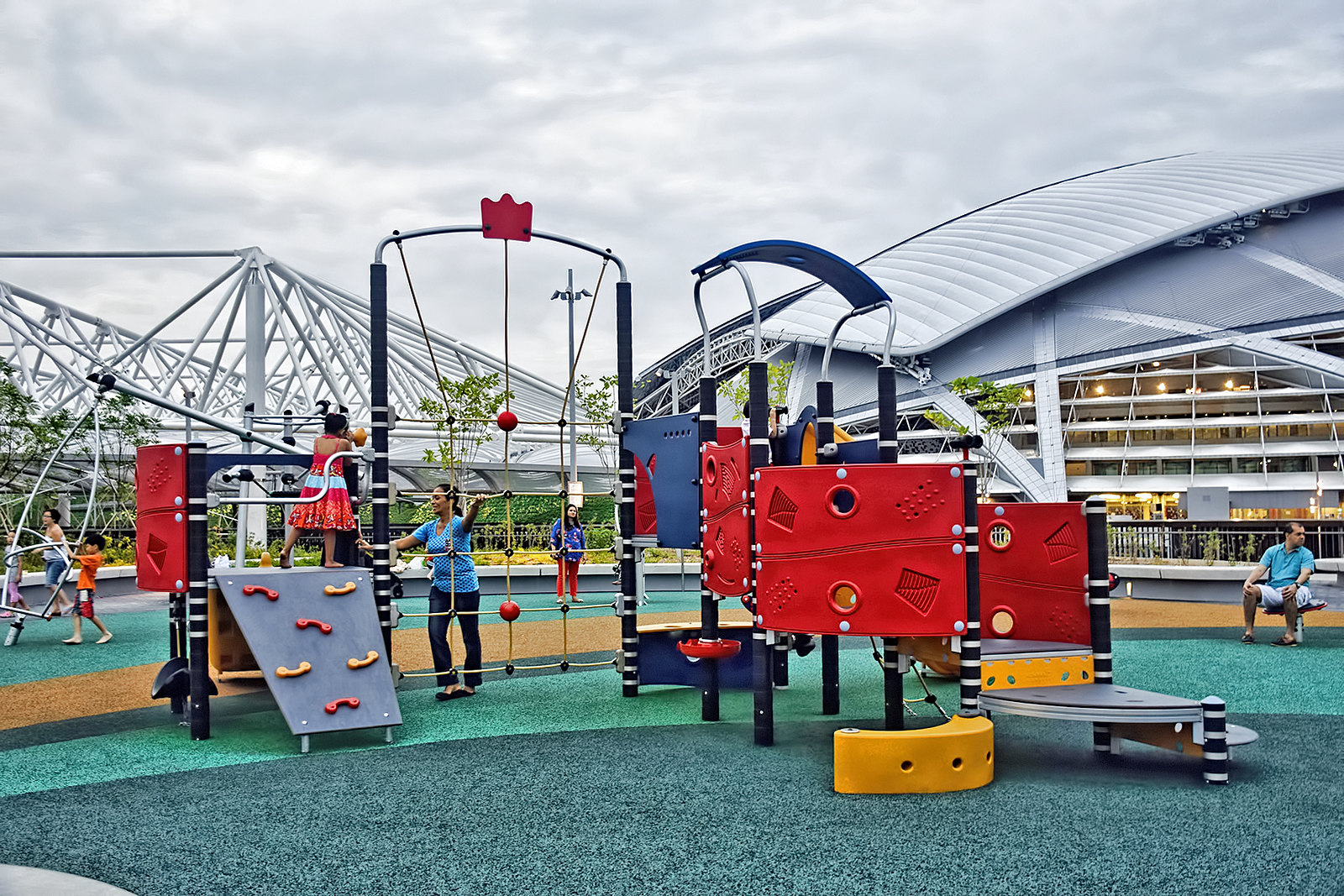 sports hub singapore outdoor playground