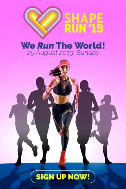 shape run 2019 singapore running events marathon female