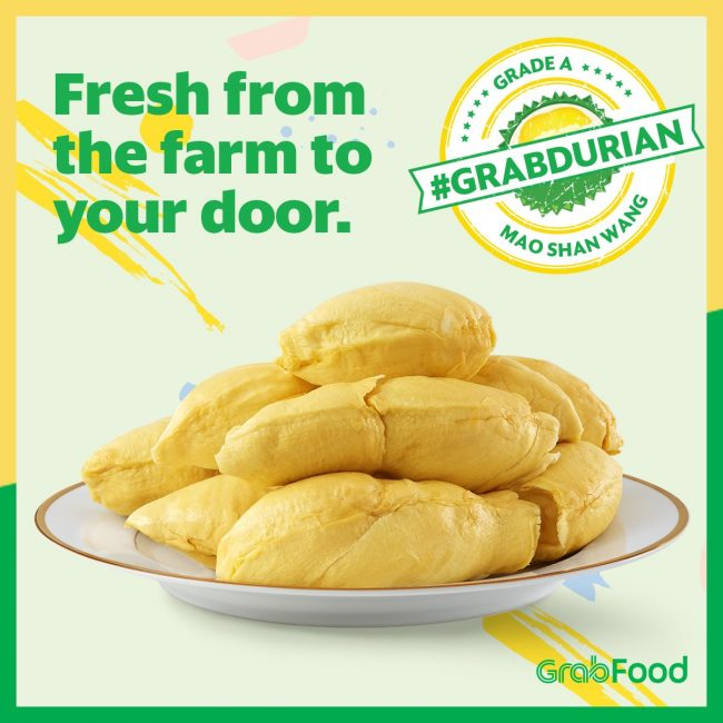 durian delivery singapore grabfood grabdurian