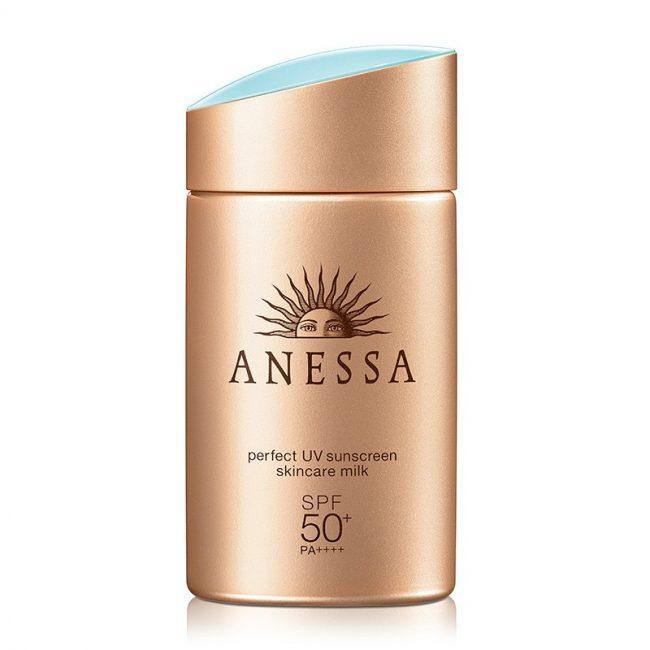 anessa perfect uv sunscreen skincare milk spf 50 shiseido