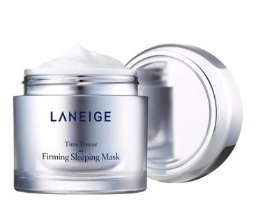 Laneige Time Freeze Firming Sleeping Mask 60ml with Free Gift