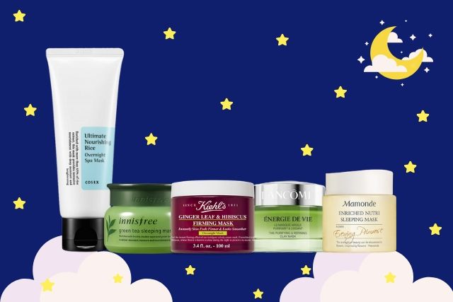 Top 15 Highly-Raved Sleeping Masks From As Low As $22