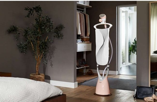 philips comforttouch pink standing iron
