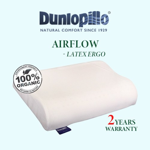 dunlopillo best pillow for neck pain