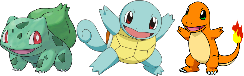 best pokemon games kanto starters