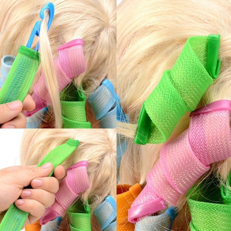 18ps hair strip curlers in singapore