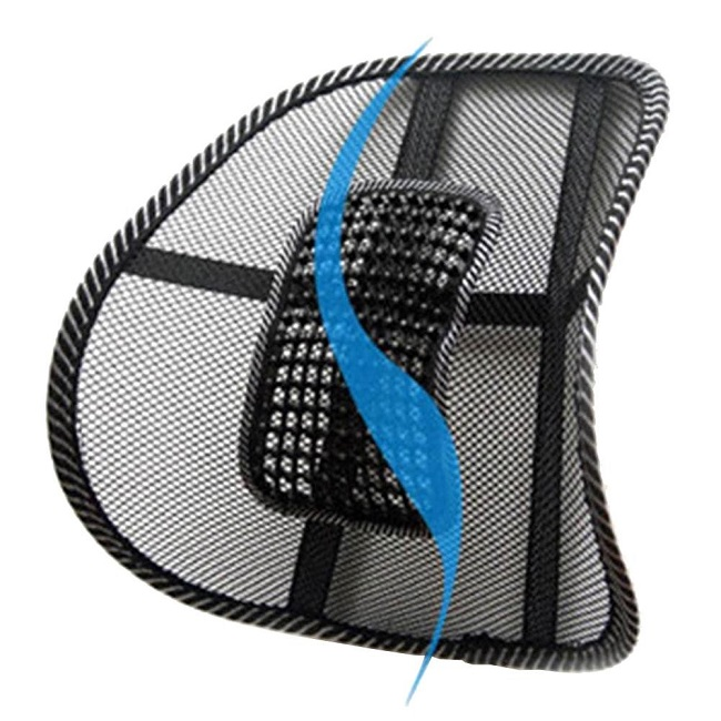 back support for office chair mesh lumbar brace