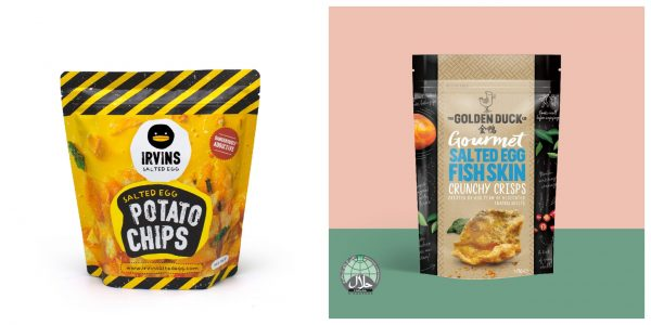 singapore souvenirs for overseas friends salted egg flavoured snacks