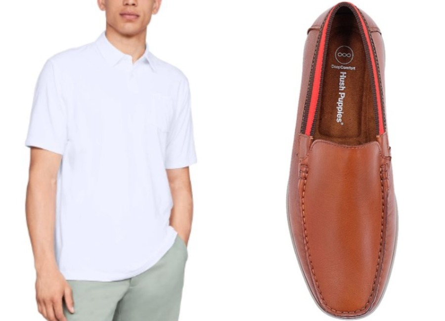 white polo shirt red stripe loafers singapore national day outfit