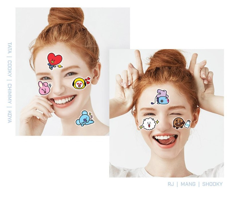 BT21 Character Mask