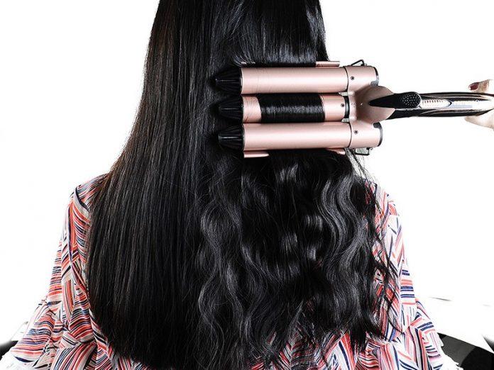 pritech 3 barrel hair curler in singapore