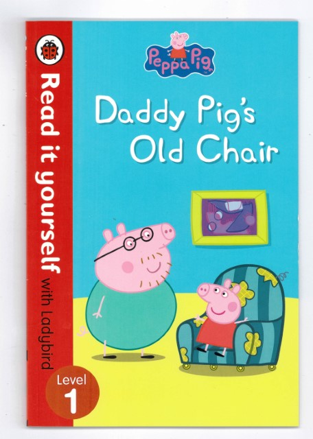 peppa pig daddy pigs old chair