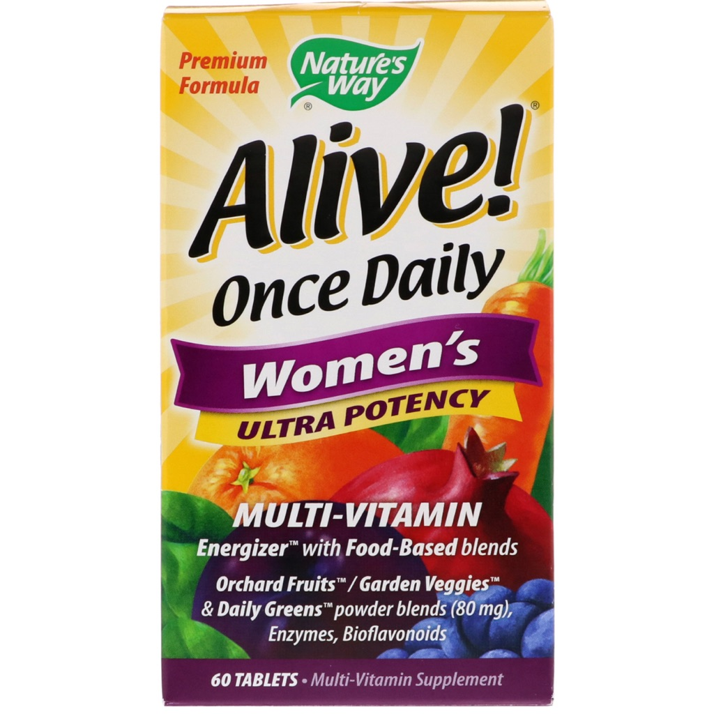 nature's way alive multivitamins for women