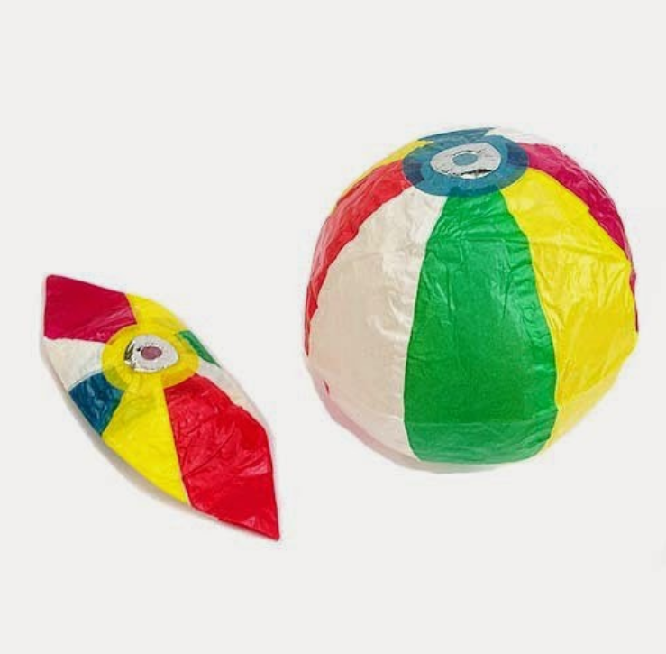 paper ball singapore traditional game