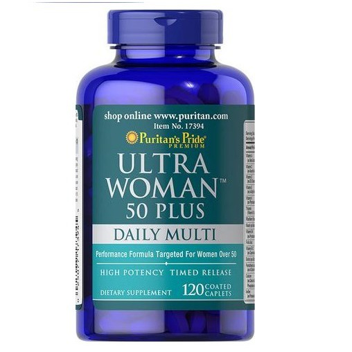 puritan's pride mutlivitamin for older women