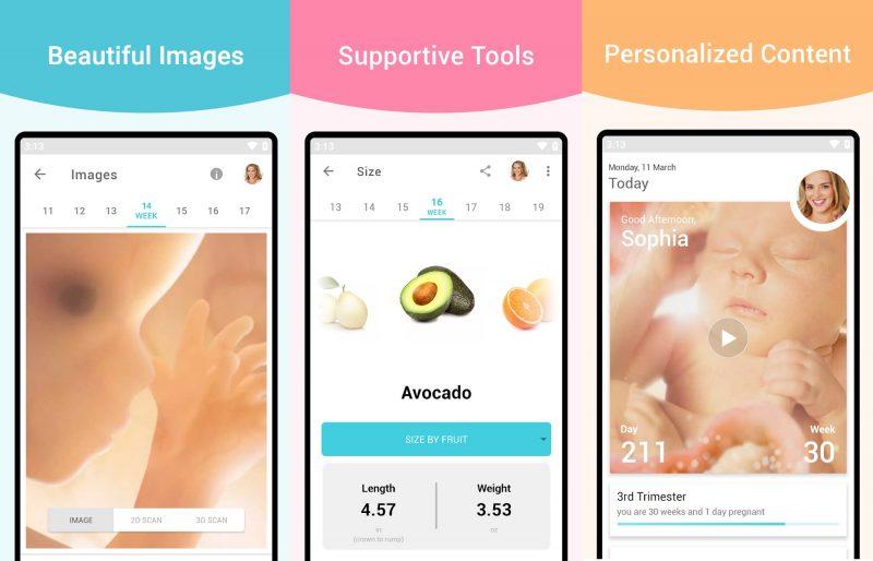 best pregnancy app new parents tracker pregnancy+