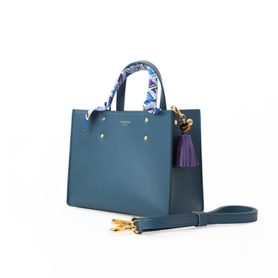 korean bag brands fibreno turquoise sling bag office
